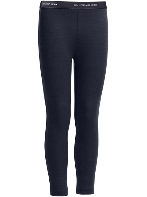 Icebreaker Kids Compass Leggings Midnight Navy